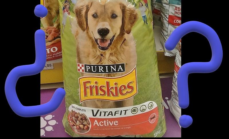 Piensos para perros de mala calidad